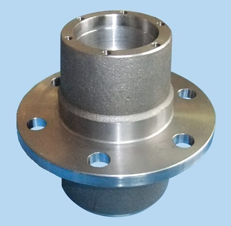 machining cast iron hub